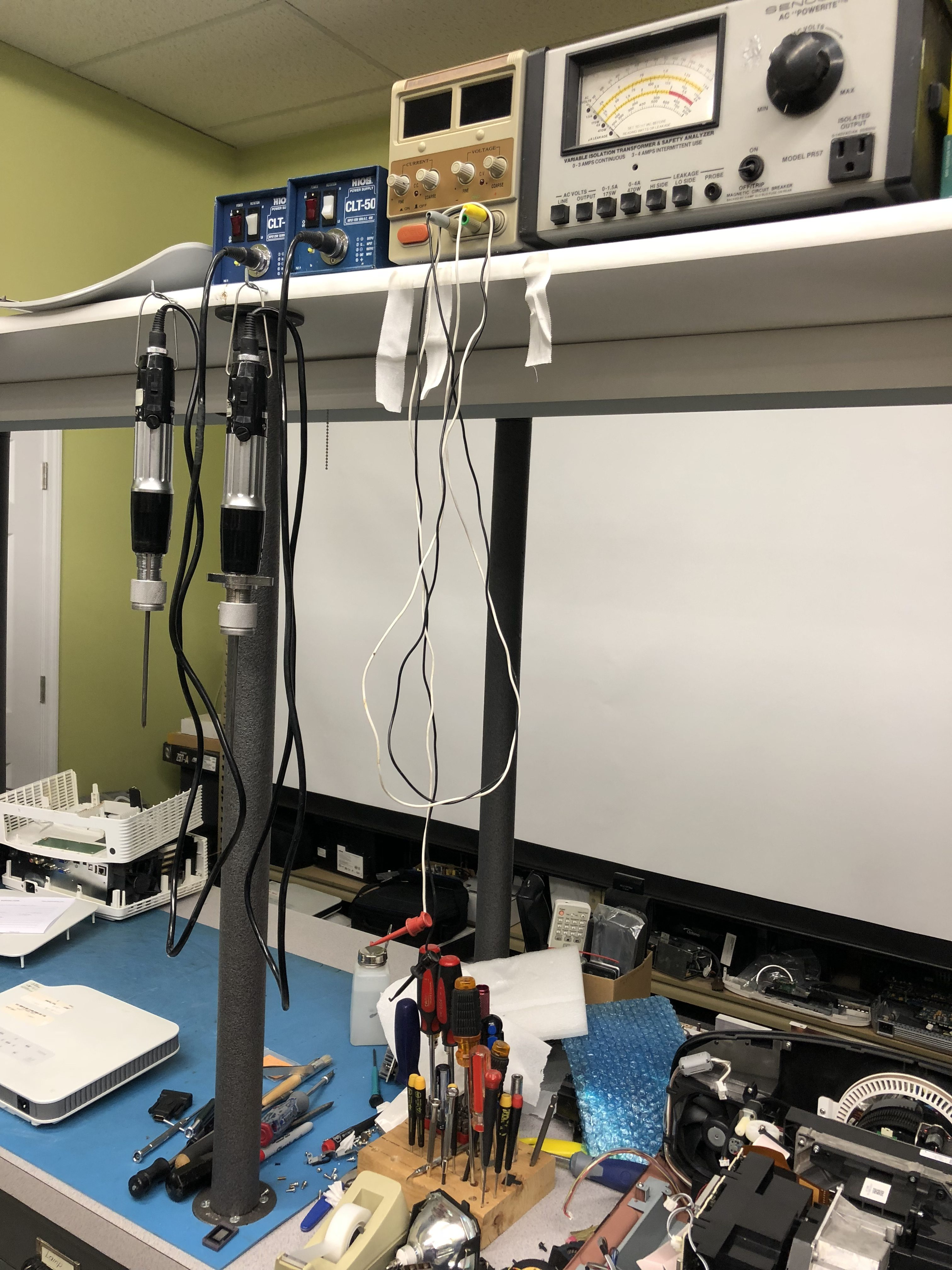 Projector Repair Station